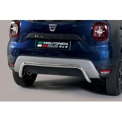Barra protezione tubo posteriore  TUNING SUV DACIA DUSTER 2018- acciaio INOX anche in nero opaco
