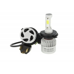 Kit FULL LED H4 OPTIC LINE per auto moto  non canbus plug and play bianco ghiaccio 9-32V accensione immediata 6000k