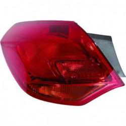 Faro fanale posteriore esterno destro OPEL ASTRA 2009-08/2012 5 porte freccia arancio OEM 13306454 1222088