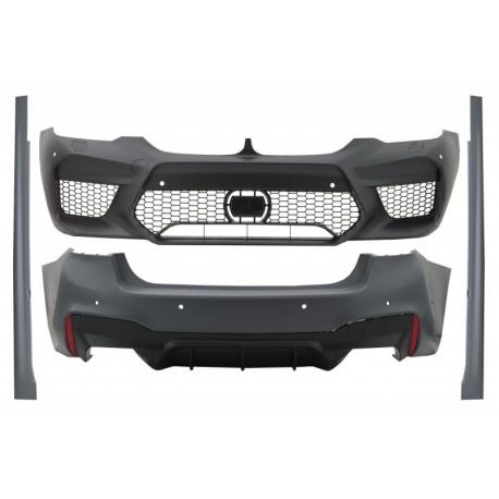 Bodykit kit estetico TUNING look M5 per BMW Serie5 G30 berlina 2017-  per sensori 6+6 paraurti anteriore posteriore minigonne pe