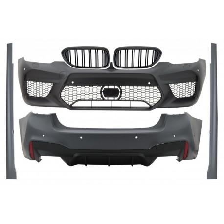 Bodykit kit estetico TUNING look M5 per BMW Serie5 G30 berlina 2017-  per sensori 6+6 paraurti anteriore posteriore minigonne ca