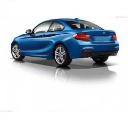 Coppia minigonne TUNING look M235 per BMW Serie2 F22 F23 Coupè Cabriolet 2013 2014 2015 2016 2017