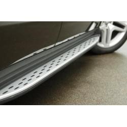 Set pedane laterali MERCEDES GL X166 2012-2019 staffe e materiali di montaggio