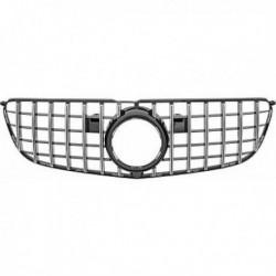 Calandra griglia radiatore anteriore TUNING MERCEDES GLS X166 15-18 look GT cromata nera