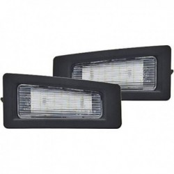Set luce targa TUNING LED MAZDA3 2016- con canbus no errore