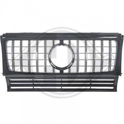 Calandra griglia radiatore anteriore TUNING MERCEDES ClasseG W463 89-15 look GT cromata nera