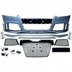 Paraurti anteriore TUNING AUDI TT 8J 06-14 look RS no sensori per lavafari