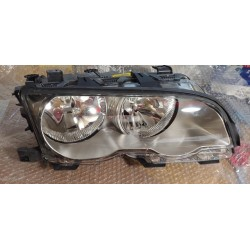 BMW Serie3 E46 Coupè Cabrio 99-01 faro anteriore dx alogeno titanio oem 63 12 6 908 224 BOSCH 0301157204