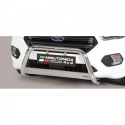 Bullbar anteriore OMOLOGATO FORD Kuga 2017 2018 2019 2020 acciaio INOX mod Medium