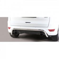 Barra protezione tubo posteriore  TUNING SUV FORD KUGA 2017 2018 2019 2020 acciaio INOX anche in nero opaco