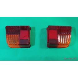 Coppia plastica faro fanale posteriore dx sx CITROEN 2CV modello Seima produzione PV P7273D P7273S