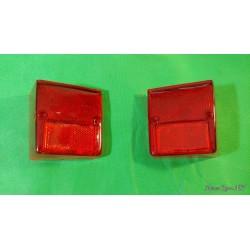 Coppia plastica faro fanale posteriore dx sx INNOCENTI MINI MINOR MK2 MK3 per faro Altissimo produzione PV P9237/S P9237/D
