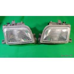 Coppia faro fanale anteriore dx sx RENAULT CLIO 16v Williams 1991-1996 H4 7701034150 151 BOSCH  0301013115116