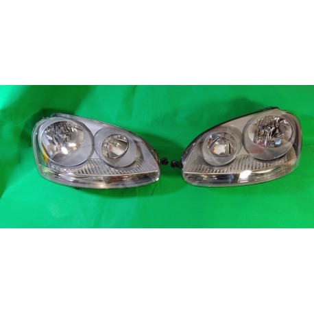 BOSCH faro fanale anteriore dx sx VW GOLF V 5 03-08 alogeno base grigia H7 oem 1H6941018K 1H6941017K 1K6941006C 1K6941005C 03012