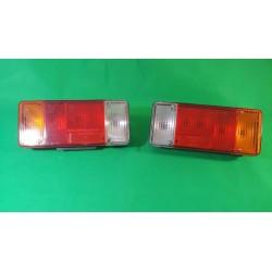 Coppia faro fanale posteriore dx sx furgoni cassonati FIAT DUCATO 1982-12/2011, IVECO DAILY 1989-05/1996, CITROEN C25 1982-1994,