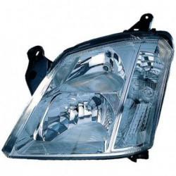 Faro fanale proiettore anteriore destro OPEL MERIVA 2003-2010 DEPO H7+H1 per regolazione elettrica