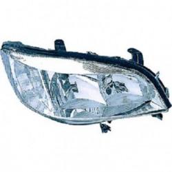 Faro fanale proiettore anteriore destro OPEL ZAFIRA 1999-2005 VALEO H7+HB3 per regolazione elettrica