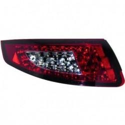 Set fari fanali posteriori TUNING PORSCHE 911 serie 997 2004-2008, LED rosso fumè