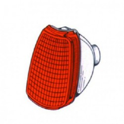 Freccia anteriore sinistra VW POLO 1990-1994 arancio