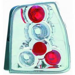 Set fari fanali posteriori TUNING per VW LUPO e SEAT AROSA 05/1997-11/2000 Lexus cromati a 5 cerchi