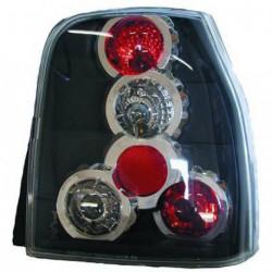 Set fari fanali posteriori TUNING per VW LUPO e SEAT AROSA 05/1997-11/2000 Lexus neri a 5 cerchi