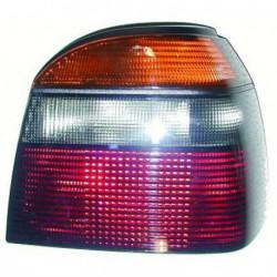 Faro fanale posteriore destro VW GOLF III 1991-1997 rosso grigio 3/5 porte