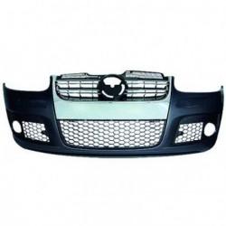 Paraurti anteriore TUNING VW GOLF V 2003-2008 verniciabile, look R32, completo di griglie, finitura cromata