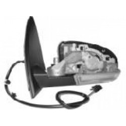 Specchio specchietto retrovisore esterno sinistro VW GOLF V 2003-2008 elettrico riscaldabile ripiegabile luce terra con freccia, senza vetro senza copri
