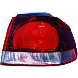 Faro fanale posteriore destro VW GOLF VI 2008-2012 DEPO Modello HELLA esterno fondo scuro