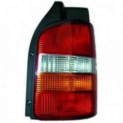 Faro fanale posteriore destro VW T5 TRANSPORTER, CARAVELLE, BUS, MULTIVAN 2003-2009 rosso arancio per porte battenti