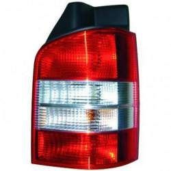 Faro fanale posteriore destro VW T5 TRANSPORTER, CARAVELLE, BUS, MULTIVAN 2003-2009 rosso bianco per porte battenti