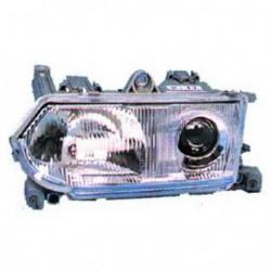 Faro fanale proiettore anteriore sinistro ALFA ROMEO 145 146, 1994-12/1998 TYC per regolazione manuale o elettrica