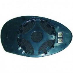 Vetro per specchio specchietto retrovisore esterno sinistro ALFA ROMEO 147 anni 2001-2010 asferico riscaldabile