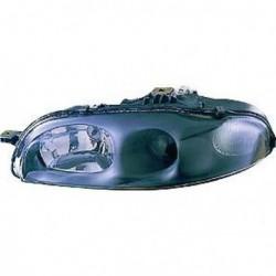 Faro fanale proiettore anteriore destro FIAT MAREA 1995-2001 H1 per regolazione elettrica, fondo scuro lenticolare