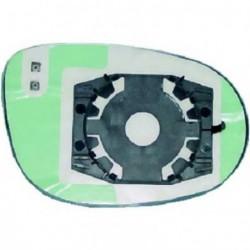 Vetro per specchio specchietto retrovisore esterno sinistro FIAT CROMA 2005-2011 azzurrato asferico elettrico riscaldabile