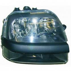 Faro fanale proiettore anteriore destro FIAT DOBLÒ 2001-2005 per regolazione elettrica DEPO H1+H1+H7 con fendinebbia