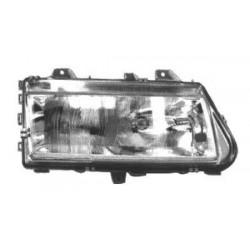 Faro fanale proiettore anteriore sinistro PEUGEOT 806, 1994-10/1998 TYC H1+H1 per regolazione elettrica